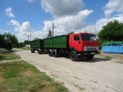 Камаз 53212. КамАз 53212 + прицеп, 10 860 куб. см., 10 000 кг.