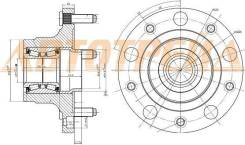 Ступичный узел RR FORD TRANSIT T9 R15 06-13 ST-1377911