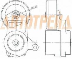 Натяжитель приводного ремня MMC OUTLANDER 2,0-2,4 -06/GALANT 2,4 00-/GRANDIS 2,4 04-/LANCER