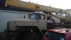 Галичанин КС-55713-3. Автокран Галичанин 55713-3 на шасси Урал 4320, 2000 г. в., 25 т., 22 м., 25 000 кг., 22 м.