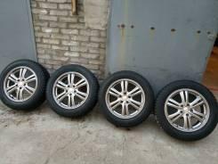 215=60=17 комплект зимних колес, как новые. 7.0x17 5x114.30 ET38
