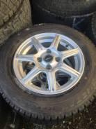 Комплект шины+литьё 14 4-100. Bridgestone. 175/70R14 зима. 5.5x14 4x100.00 ET38 ЦО 73,0мм.