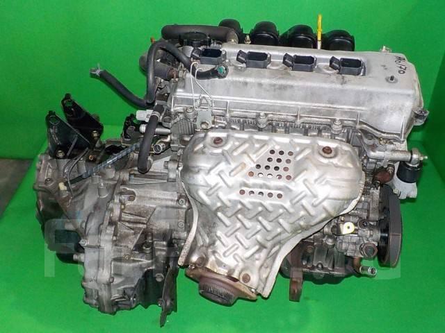 Двигатель в сборе. Toyota: Celica, Corolla Spacio, Caldina, Allex, WiLL VS, Wish, Avensis, Corolla Verso, Corolla Fielder, Isis, Corolla Runx Двигател...