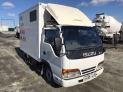 Isuzu Elf. Грузовой фургон Isuzu ELF, 3 059 куб. см., 1 000 кг.