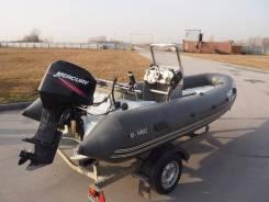 Буревестник B-450HL. Год: 2013 год, длина 4,50м., двигатель подвесной, 50,00л.с., бензин