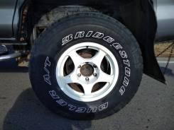 Продам японские колеса на 16 с выносом. 8.0x16 6x139.70 ET-25 ЦО 110,0мм.