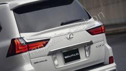 Спойлер на заднее стекло. Lexus LX570 Lexus LX450d, URJ200 Двигатель 1VDFTV