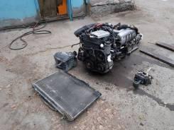 Двигатель в сборе. Toyota Chaser Toyota Mark II Toyota Cresta Двигатель 1JZGE