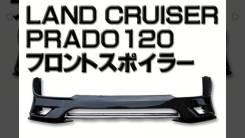 Накладка на бампер. Toyota Land Cruiser Prado