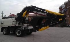 Hidromek HMK 200W. Продам колесный экскаватор, 5 200 куб. см., 1,00куб. м.