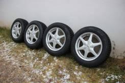 Колеса зимние 205/60/16 в сборе Pirelli Winter Ice Zero. 6.5x16 5x100.00, 5x114.30 ET35 ЦО 73,1мм.