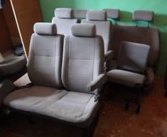 Сиденье. Toyota Hiace, KZH116G, KZH116