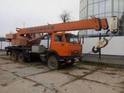Ульяновец МКТ-25.1. Продам Автокран 25 тонн на базе Камаза 2007г, 10 850 куб. см., 25 000 кг., 21 м.