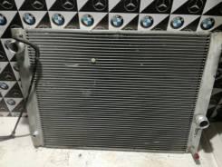 Радиатор охлаждения двигателя. BMW 5-Series, E60 Двигатели: M54B22, M54B30, M54B25