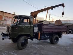 ГАЗ 66. с КМУ продам, 5 000 куб. см., 5 000 кг.
