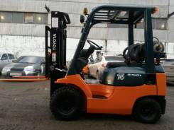 Toyota 8FG15. Вилочный погрузчик Toyota FG15 б/у, двиг газ/бензин, 1 500 кг.