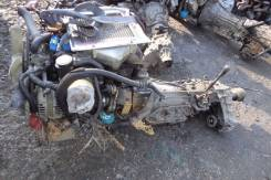 Двигатель в сборе. Nissan Mistral, R20 Двигатель TD27B