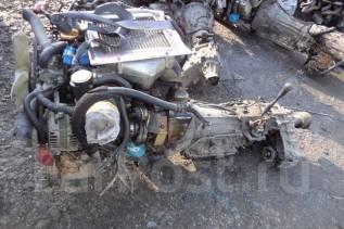 Двигатель в сборе. Nissan Mistral, R20 Двигатели: TD27B, TD27BETI