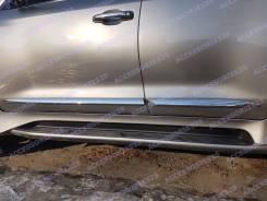 Молдинги Хром на двери Lexus LX570 / LX450d 2015г 2016г+. Lexus LX570, URJ201, URJ201W Lexus LX450d, URJ200