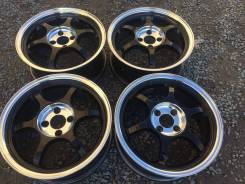 "Black Racing. 6.5x16"", 4x100.00, ET38"