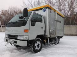 Hino Ranger. Грузовой фургон , 1996 г. в., 4 300 куб. см., 2 000 кг.