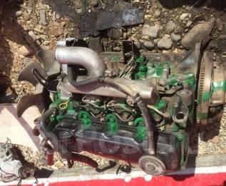 Двигатель в сборе. Nissan Atlas Двигатель TD23