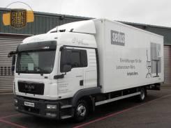 MAN TGL. 8.250, фургон 43м3 ворота, max комплектация, без пробега по РФ, 6 871 куб. см., 5 000 кг.