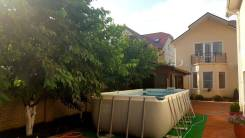 Дом 400 кв. м. на 7 сотках. ремонт и мебель. Анапа, р-н Супсех, централизованный водопровод, отопление газ, от агентства недвижимости (посредник)