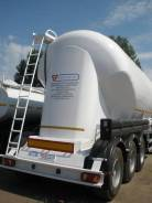 Сеспель SF3U34. Продается алюминиевый цементовоз , объем 34м3, 34 000 куб. см., 34,00куб. м.