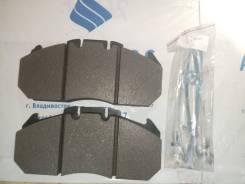 Колодки тормозные дисковые MAN TGA 81.50820.6051 / FIAT / IVECO CITELIS 503140089 , 50314 0089 / VOLVO 21309468 / RENAULT 5001863904 , с р/ к 29131 24...