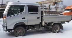 Грузовик бортовой 4WD грузопассажирский, двухкабинник