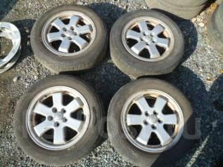 Комплект колес 185/65/15 лето на литье №6119. 6.0x15 5x100.00 ET45