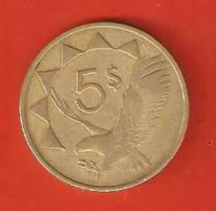 5 рэнд 1993 г. ЮАР.