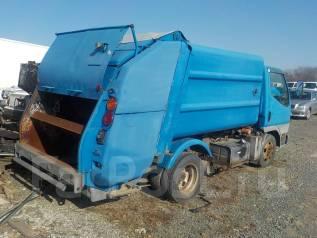 Mitsubishi Canter. Установка мусоровоза