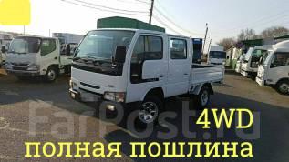 Nissan Atlas. 4WD, двухкабинник + борт 1 тонна, 3 200 куб. см., 1 500 кг.