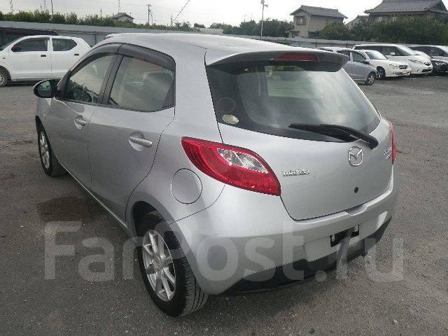 Mazda Demio. автомат, 4wd, 1.3 (91л.с.), бензин, 125тыс. км, б/п, нет птс. Под заказ
