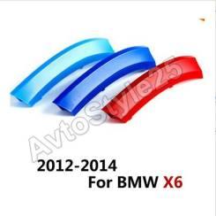 Эмблема решетки. BMW X6, E71 Двигатели: N55B30, N57D30OL, S63B44, N57D30TOP, N57S, N63B44