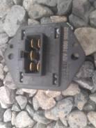 Сопротивление мотора отопителя.