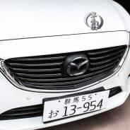 Молдинг решетки радиатора. Mazda Atenza, GJ2FW, GJEFW, GJ5FW, GJ2AW, GJ2AP, GJ2FP, GJEFP, GJ5FP Mazda Mazda6, GJ