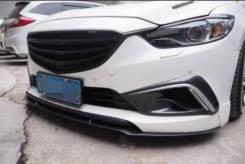 Лип спойлер перед (накладка на бампер) Mazda 6 GJ Atenza. Mazda Atenza, GJ2FP, GJ2AP, GJ2FW, GJEFW, GJ2AW, GJ5FW, GJEFP, GJ5FP Mazda Mazda6, GJ