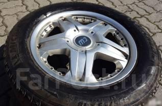 Резина Michelin 255/55 на литье Borbet R18. 8.0x18 5x120.00 ET35 ЦО 74,1мм.