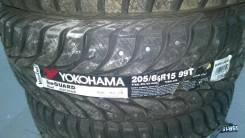 Yokohama Ice Guard. Зимние, шипованные, без износа, 4 шт