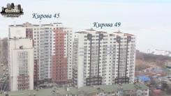 2-комнатная, улица Кирова 49. Вторая речка, агентство, 77 кв.м.