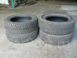 Goodyear, Bridgestone, 195/65/15. Зимние, без шипов, 2001 год, износ: 40%, 4 шт