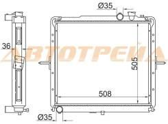 Радиатор KIA BONGO J3 1.4t (505)