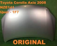 Капот. Toyota Corolla Axio, ZRE144, ZRE142, NZE141, NZE144 Toyota Corolla, NZE141 Toyota Corolla Fielder, NZE141, ZRE144, NZE144, ZRE142 Двигатели: 2Z...
