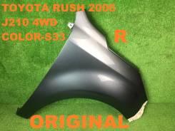 Крыло. Toyota Rush, J200E, J210, J200, J210E Двигатель 3SZVE