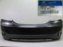 Бампер задний Хендай Солярис / Hyundai Solaris 866104L000