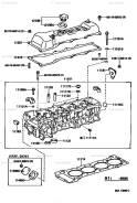 Головка блока цилиндров. Toyota: Hilux, Dyna, Regius Ace, Hiace, ToyoAce, Mark II Wagon Qualis, Regius, T.U.V Двигатели: 1RZE, 1RZ