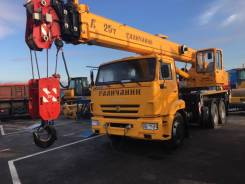 Галичанин КС-55713-1В. Продаю автокран галичанин 25 тонн, 11 700 куб. см., 25 000 кг., 28 м.